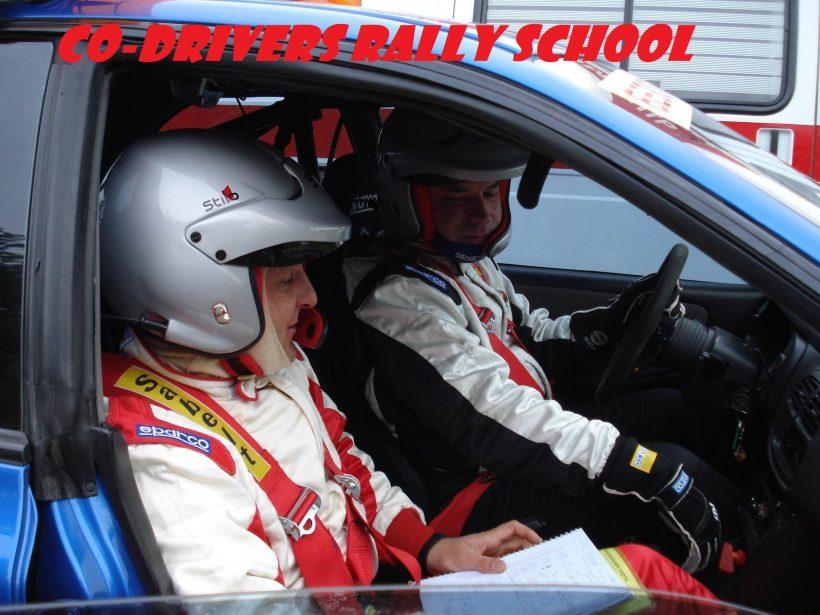 CO-DRIVERS RALLY SCHOOL